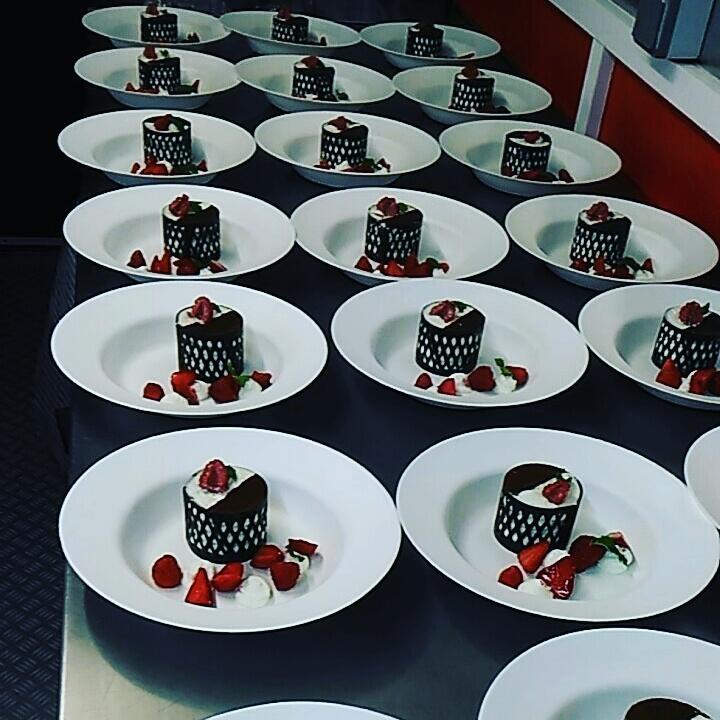 dessert dentelle chocolat