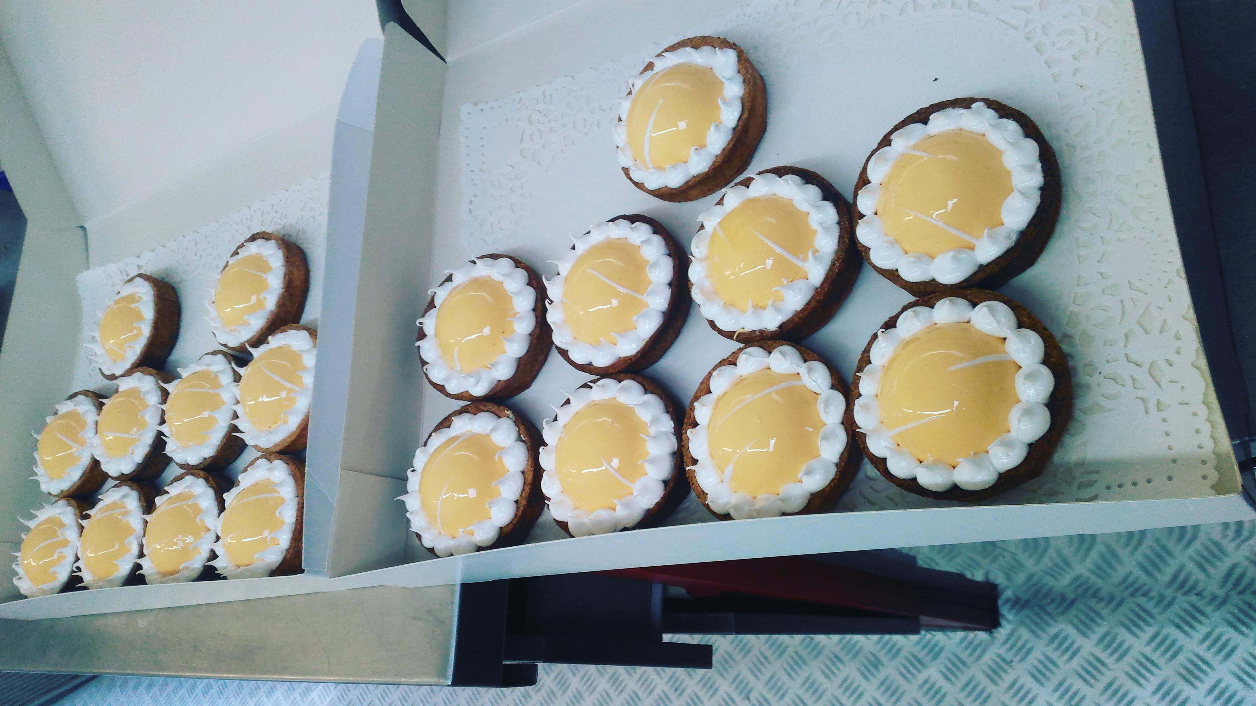 tarte citron au chaudron food truck