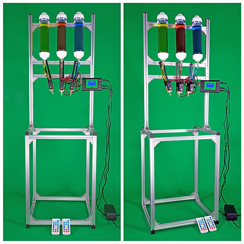 3 Valve Water Drop Combo with New Controller & Frame
