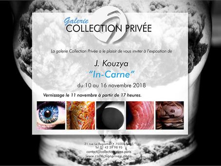 """Exposition """"In Carne""""                            du 10 au 16 Novembre 2018"""