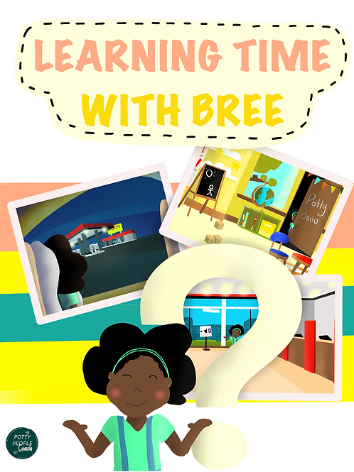 Learning Time With Bree Coloring Book
