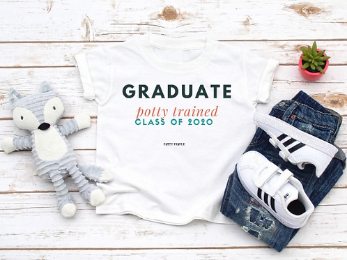 Personalized Potty Graduate Toddler Tee