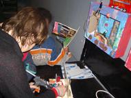 אסנת יבין, שיעור צילום בסדנא לאמנות רמת אליהו, פברואר 2004