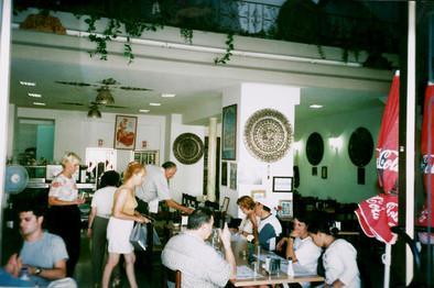 ת'ארוחה, עיצוב, אוצרות שטח, מסעדה מזרחית, נצרת, ינואר 2000