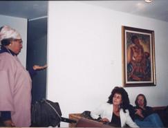 בלוק, תהליך אוצרות שטח, אצל הכושים העברים, דימונה, ינואר 1997