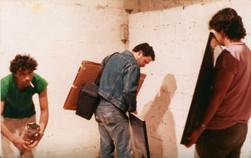 פירוק התערוכה, עמי שטייניץ, שוקה גלוטמן, ראובן זהבי
