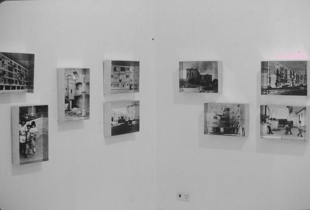 בלוק, התערוכה, הצבת צילום, דניאל ללונג-אלגרבלי, ינואר 1997