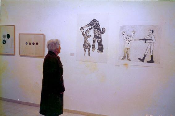 דוד ריב, סימנים פוליטיים 1967 – 1982, אפריל 1990