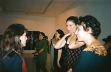 פלסטינ(ה), אמנות נשים מפלסטין, מימין ג'ומאנה אמיל עבוד, אוקטובר 1998