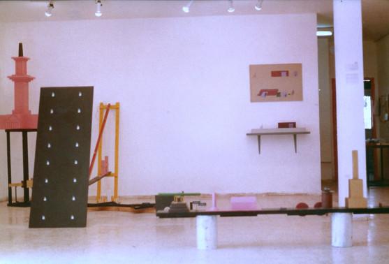 בילו בליך, תערוכת יחיד, אוקטובר 1985