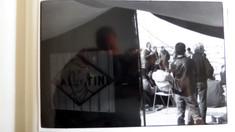אוהל המחאה מול אנסאר 3, ינואר 1989, עבודה, גבי קלזמר, צילום: שוקה גלוטמן