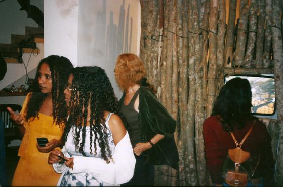גשר מזהב, תערוכה משותפת, אמני בלוק וחברי קהילת יוצאי אתיופיה, אוקטובר 1998