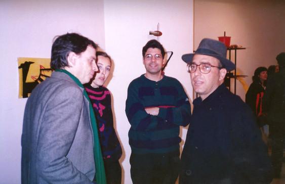 דוד טרטקובר, בילו בליך תערוכת הפתיחה, עמי שטייניץ אמנות עכשווית, ינואר 1990