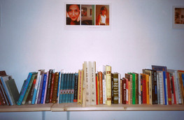 ספריה מזרחית, דיוקן רונית מטלון, צילום: יעקב רונן מורד, מרץ 2000