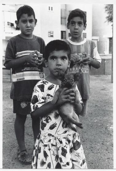 בלוק, תהליך אוצרות שטח, ילדים בבית שאן, ינואר 1997