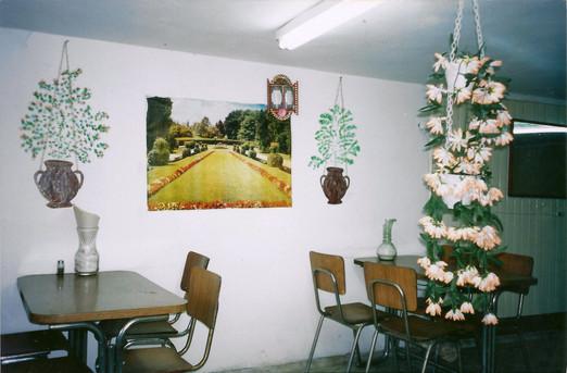 ת'ארוחה, עיצוב, אוצרות שטח, מסעדה מזרחית, חברון, ינואר 2000