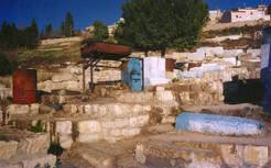 חביון, טמיר, כמוס, אוצרות שטח, אמונה עממית, בית הקברות, צפת, דצמבר 1999
