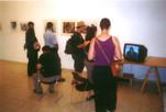 """התמודדות: """"הבנה היא אהבה"""" תערוכה קבוצתית עם מתמודדי נפש, יואל אליצור, פסיכולוג וצלם, יוני 2001"""