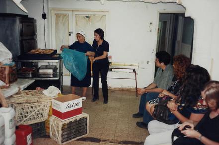 בלוק, תהליך אוצרות שטח, חן שיש ואמה, צפת, ינואר 1997