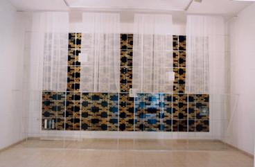 בלוק, התערוכה, עבודה של דניאל שושן, ינואר 1997