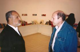 ספריה מזרחית, יצחק גורמזנו גורן עם ארז ביטון, מרץ 2000