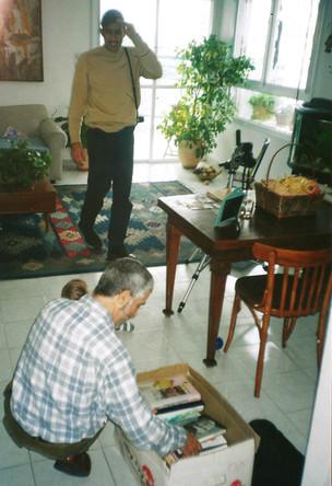 ספריה מזרחית, ציון אלגרבלי מרכז ספרים שסמי שלום שטרית השאיל, מרץ 2000