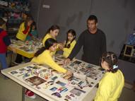 ניצן צברי, שיעור צילום בסדנא לאמנות רמת אליהו, פברואר 2004