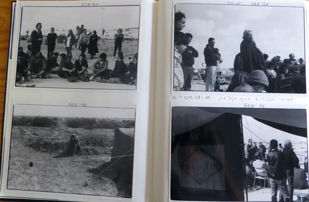 תיעוד פעולות שנערכו מול אנסאר 3, ינואר 1989, צילום: שוקה גלוטמן