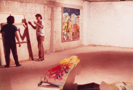 פירוק התערוכה: דוד וקשטיין