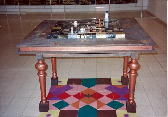 בלוק, התערוכה, עבודה של שולה קשת, ינואר 1997