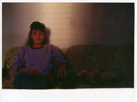 עבודה מהתערוכה, סטודנטים מצלמים ביבנה, מאי 1989