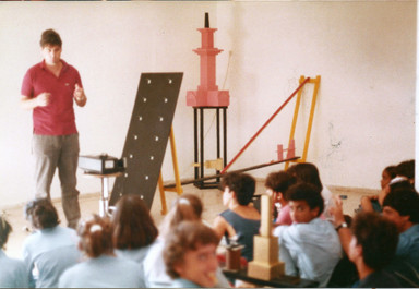 שיח גלריה בתערוכת בילו בליך, אוקטובר 1985