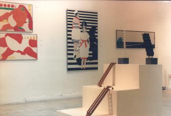 יואב בראל, גלריה קלישר 5, תערוכה רטרוספקטיבית, מרץ 1987
