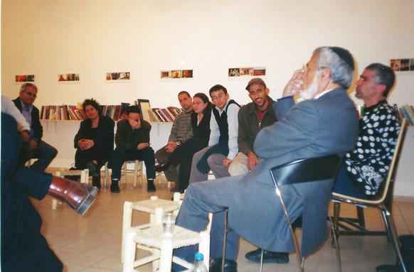 ספריה מזרחית, שיח עם הרב מימרן, מרץ 2000