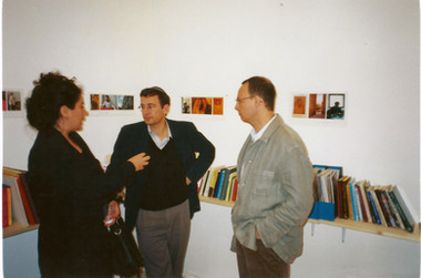 ספריה מזרחית, יהודה מימרן עם שבא סלהוב, מרץ 2000