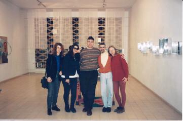 בלוק, עם דניאל ללונג-אלגרבלי, ציון אלגרבלי, שולה קשת, עפרה אברון, ינואר 1997