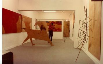 רונית דברת, תערוכת יחיד, אוקטובר 1983