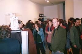 תערוכת הפתיחה, עמי שטייניץ אמנות עכשווית, ינואר 1990