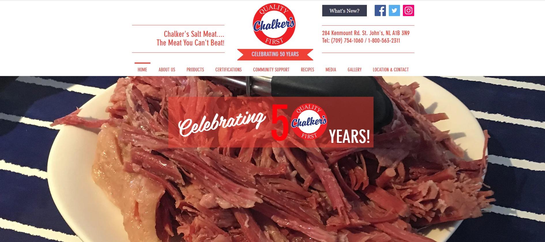 Chalker's Salt Meat...