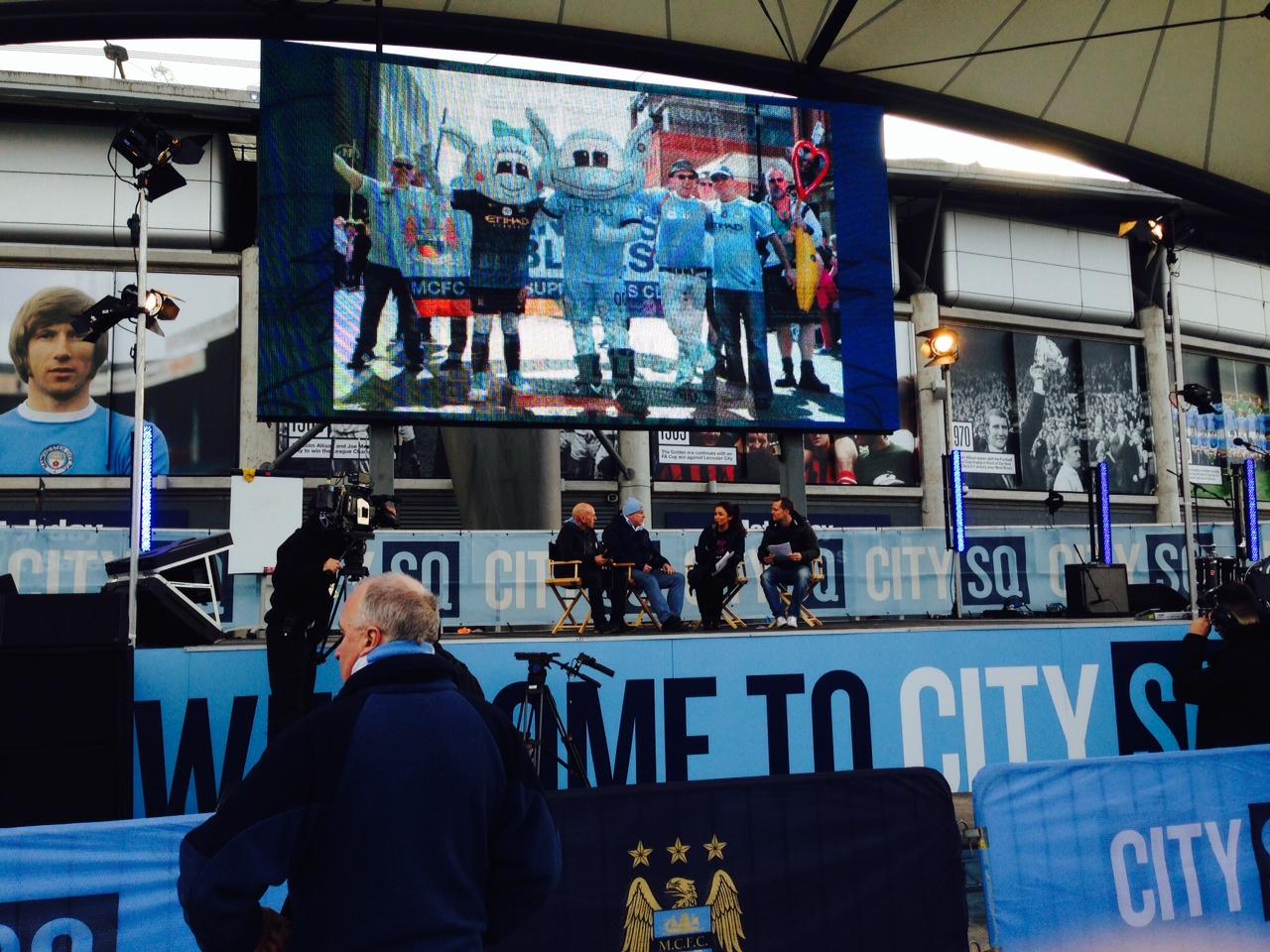 Man City crossbar challenge and FvH talk (32).JPG