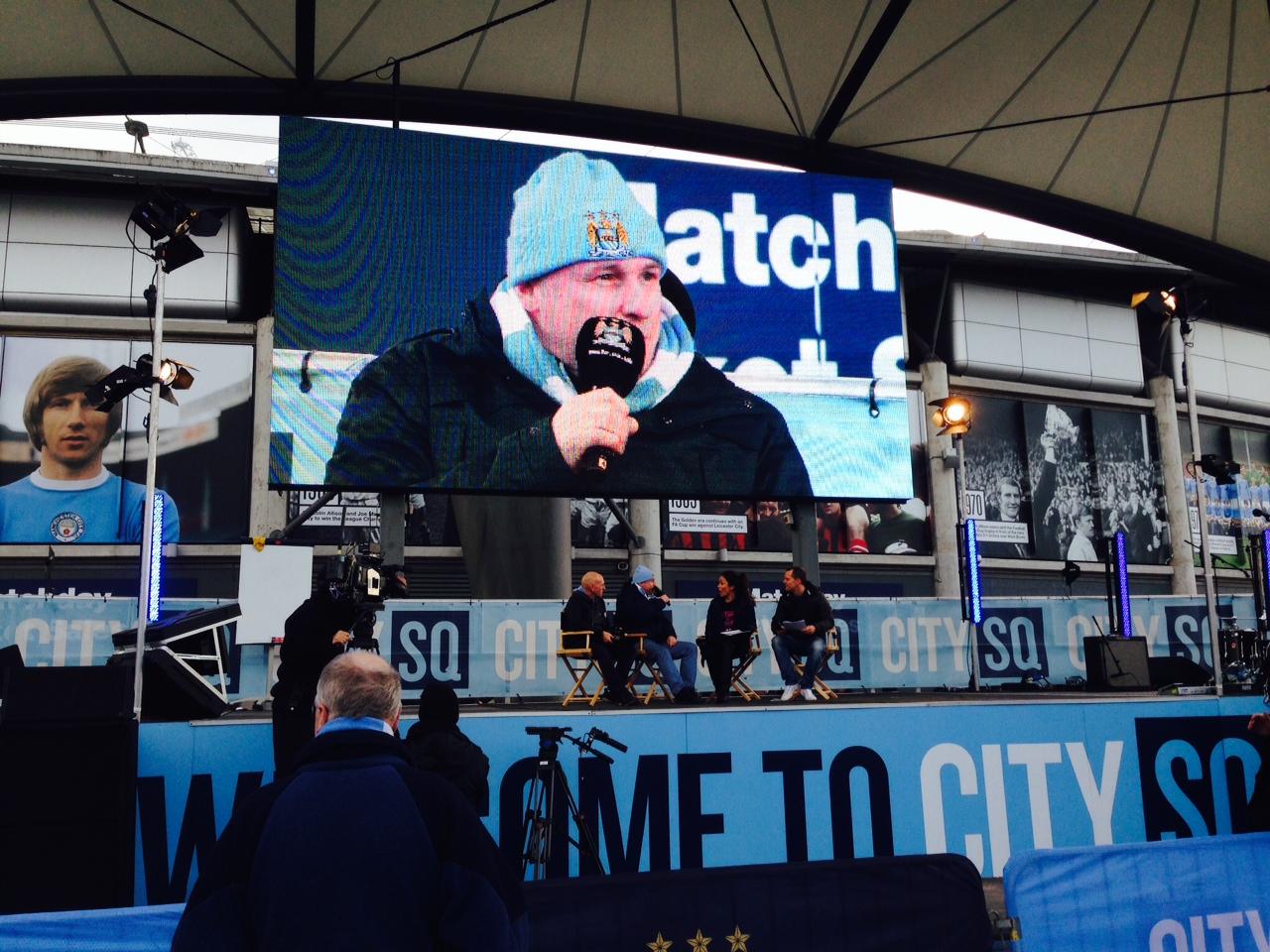 Man City crossbar challenge and FvH talk (36).JPG