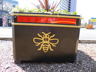 City centre planter