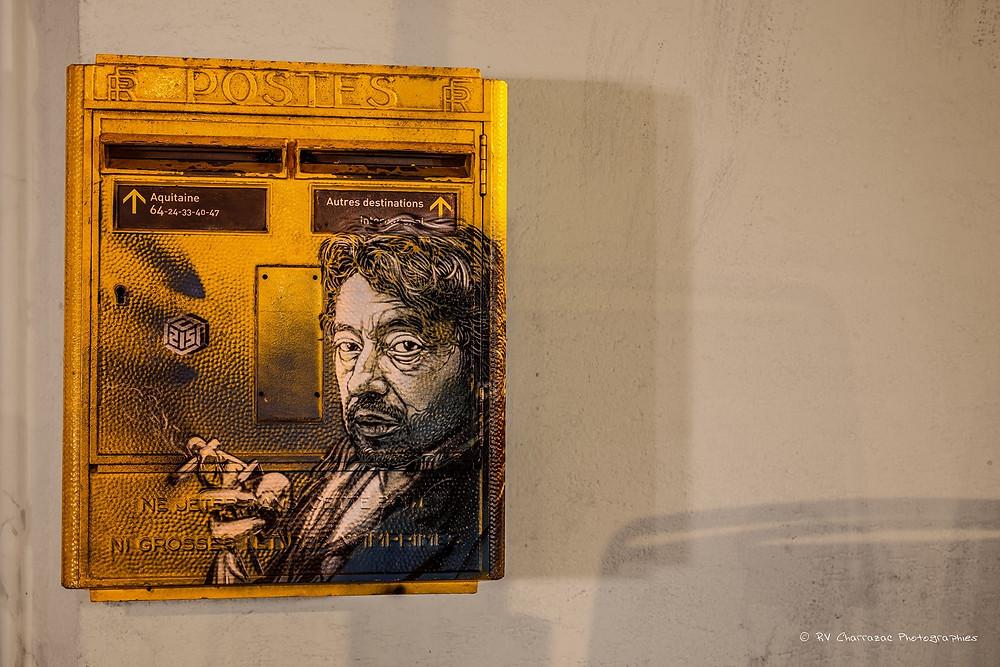 Sortie nocturne à Bayonne pour photographier les spots de Street Art.