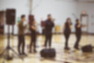 Performing at Oakstone Academy, Columbus, OH