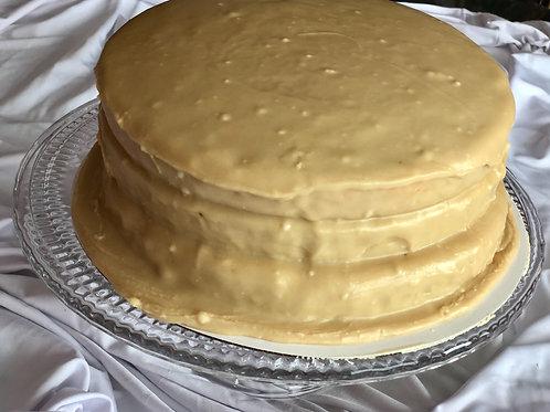Old Fashion Caramel Cake