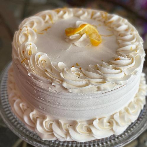 Sweet Lemon Blue Cake