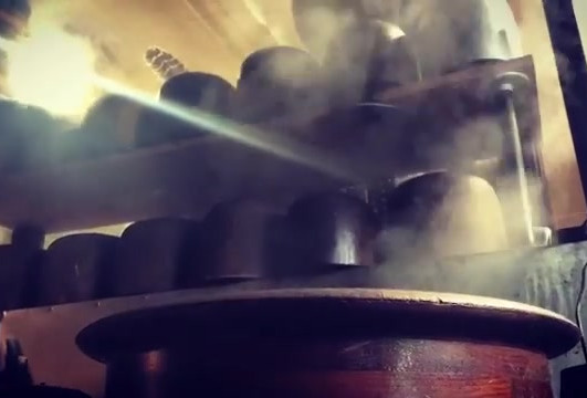 A little bit of steam. #hatterofinstagra