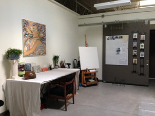 early days at Artworks east wall