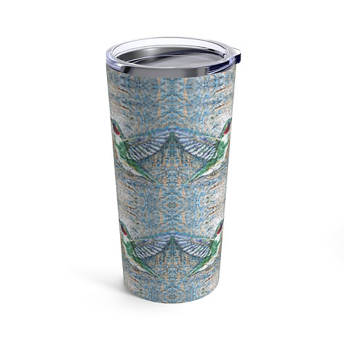 Tumbler 20oz with Lid - Hummingbird Group Kisses