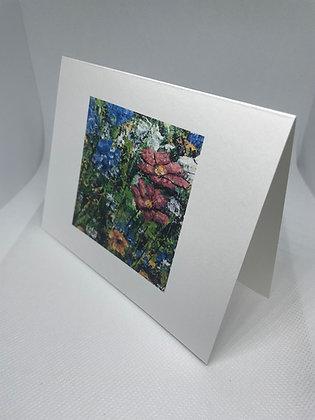 Wildflower Bunch notecard